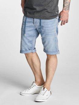 Le Temps Des Cerises Jogg Jeans Shorts Blue Jay