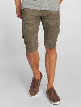 Le Temps Des Cerises Jacko Shorts Khaki Camo