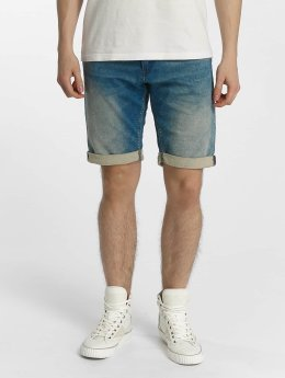 Le Temps Des Cerises shorts Sweat Denim Look blauw