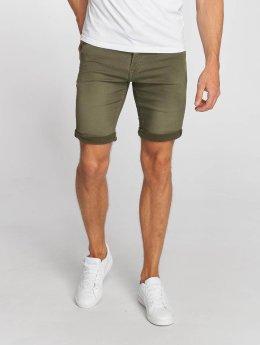 Le Temps Des Cerises Shorts Sweat Denim Optics grün