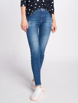 Le Temps Des Cerises Skinny Jeans Powerhig  niebieski