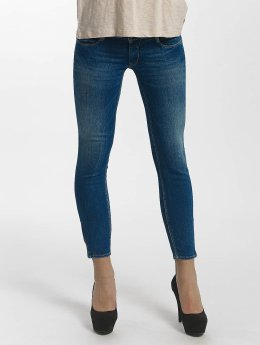 Le Temps Des Cerises Frauen Slim Fit Jeans Pulp in blau