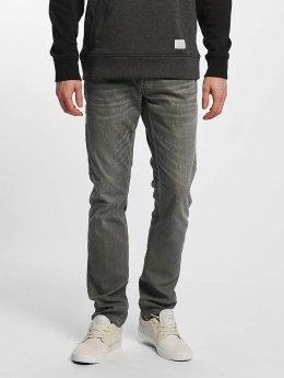 Le Temps Des Cerises Slim Fit Jeans 711 Basic grijs