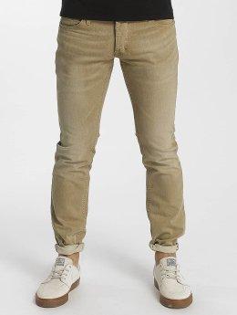 Le Temps Des Cerises Straight Fit Jeans 700/11 béžový