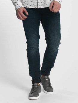 Le Temps Des Cerises Straight Fit Jeans 812 blå