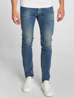 Le Temps Des Cerises Straight Fit Jeans 700/11 Loops blå