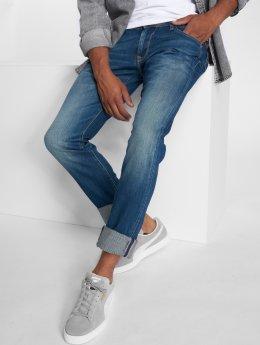 Le Temps Des Cerises Straight Fit Jeans 800/12 blå