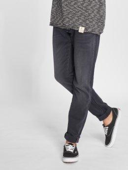 Le Temps Des Cerises Straight fit jeans 700/11 grijs