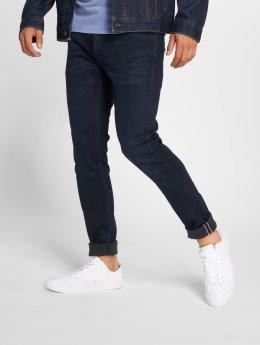 Le Temps Des Cerises Straight Fit Jeans 700/11 modrý
