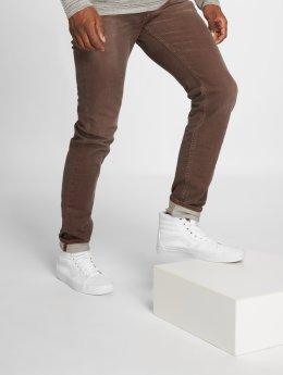 Le Temps Des Cerises Straight Fit Jeans 700/11 rød