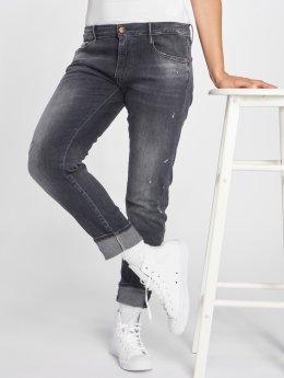 Le Temps Des Cerises Straight fit jeans 200/43 zwart