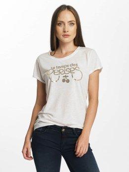 Le Temps Des Cerises T-Shirt Basitrame blanc