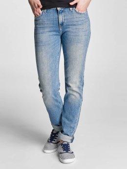 Lee dżinsy przylegające Elly niebieski
