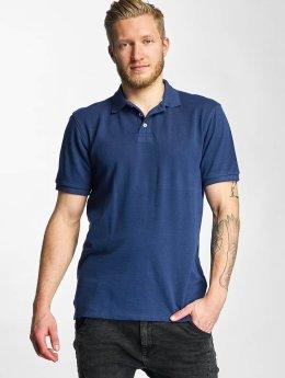 Lee Poloshirt Pique blau