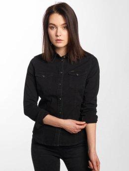 Lee Shirt Slim Western black