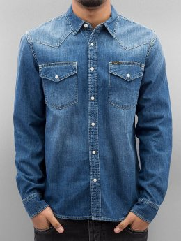 Lee Shirt Western blue