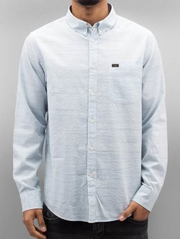 Lee Shirt Button Down blue