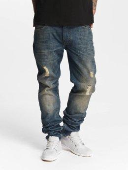 Lee Slim Fit Jeans Rider Destroyed синий