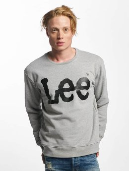 Lee Sweat & Pull Logo gris