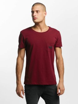 Lee T-paidat Pocket punainen