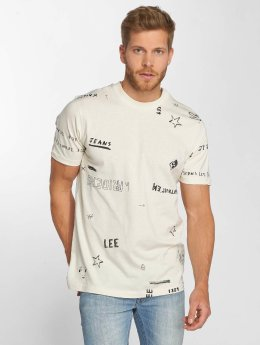 Lee T-Shirt Graphic beige