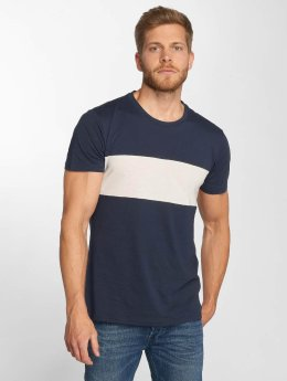 Lee T-Shirt Blocking blau