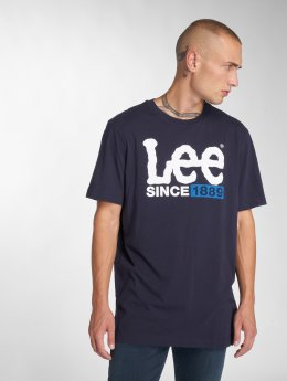 Lee T-Shirt 1889 bleu