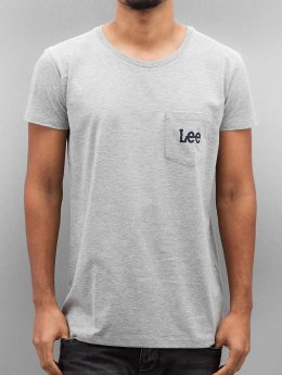 Lee T-Shirt Pocket gris