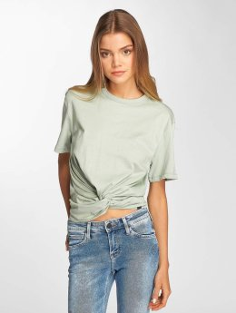 Lee t-shirt Knotted groen