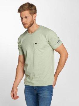Lee t-shirt Pocket groen
