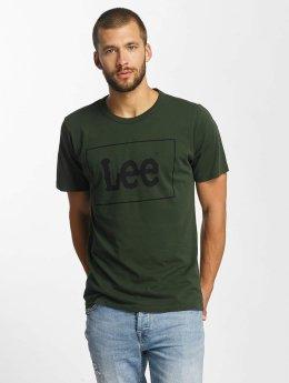 Lee T-Shirt Lee grün