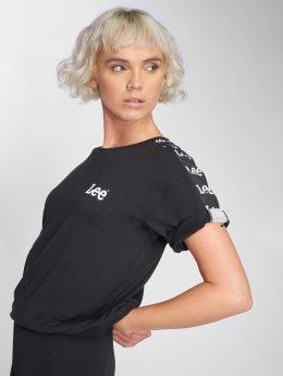 Lee T-shirt Logo nero