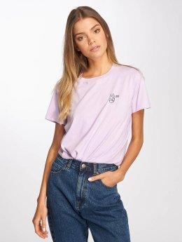 Lee t-shirt Walte paars