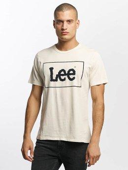 Lee t-shirt Lee wit