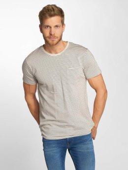 Lee T-shirts Stripe beige