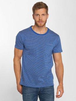 Lee T-shirts Core Stripe blå