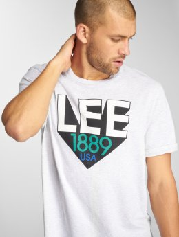Lee T-shirts Retro grå