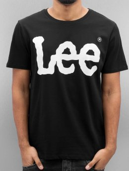 Lee T-shirts Logo sort