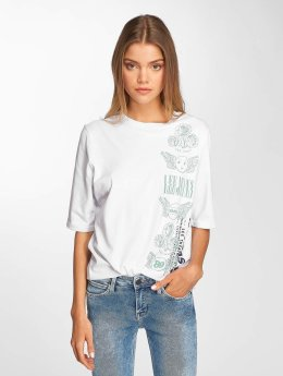 Lee T-Shirty Graphic bialy