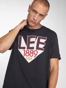 Lee T-Shirty Retro czarny