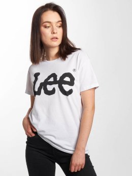 Lee T-skjorter Logo hvit