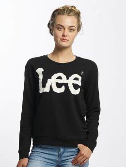 Lee / trui Logo in zwart