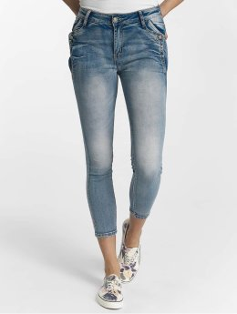 Leg Kings Облегающие джинсы Brenda синий