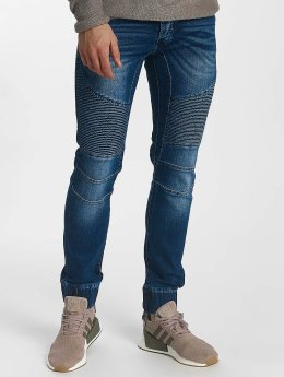 Leg Kings Jean large coupe droite Ribbed Carrot bleu