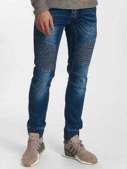 Leg Kings Jeans a carota Ribbed Carrot blu
