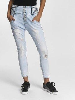 Leg Kings Jeans boyfriend Reality Fashion blu