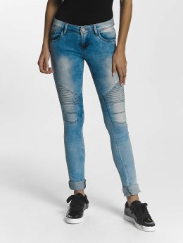 Leg Kings Jeans slim fit Girl Vivi blu