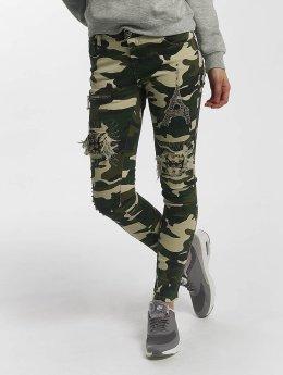 Leg Kings Jeans slim fit Deep Forest mimetico