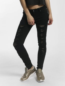 Leg Kings Skinny Jeans Mesh black