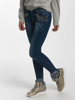 Leg Kings Skinny Jeans Nikita Reality modrý